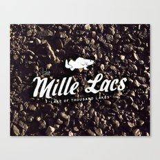 LAKE MILLE LACS Canvas Print