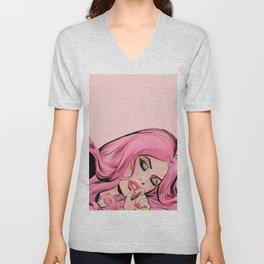 Pink Lady Unisex V-Neck