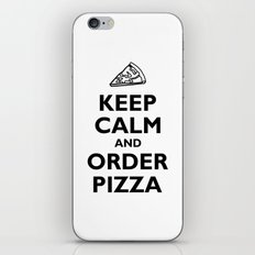Keep Calm and Order Pizza iPhone & iPod Skin