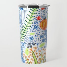 Flower garden Travel Mug