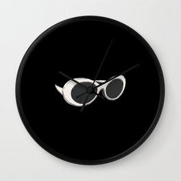 60s Sunglasses   Retro Mod Wall Clock