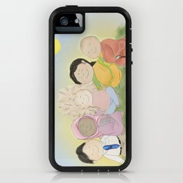 Peaceful Friends iPhone Case
