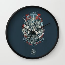 You Win or You Die Wall Clock