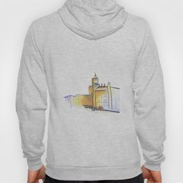 simple London on white background Hoody
