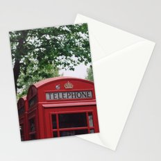 telephone boxes Stationery Cards