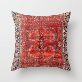 Sarouk Arak West Persian Carpet Print Deko-Kissen