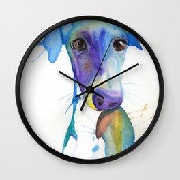 Chase (the Italian Greyhound) Wall Clock