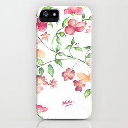 Berry Beauty iPhone Case