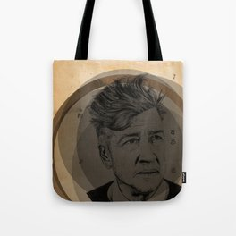 David Lynch Globe Tote Bag