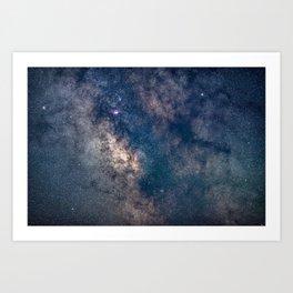 Milky Way Core Art Print