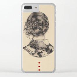 Demure Clear iPhone Case