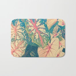Surreal Caladium Bath Mat