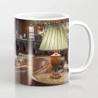 bar Mugs featuring Lounge Bar by Deborah Janke