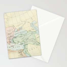 Old Map of The Roman Empire Stationery Cards