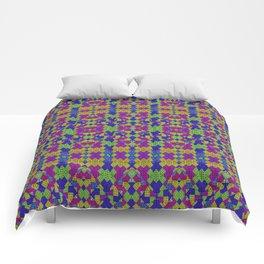 Ethnic Modern Geometric Pattern Comforters