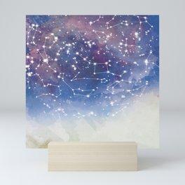 Star Constellations Mini Art Print