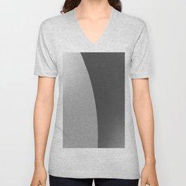 Grey Dichotomy Unisex V-Neck