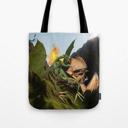 Battle for Dragon Mountain Tote Bag