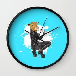 Latex Cow Got Milk Wall Clock