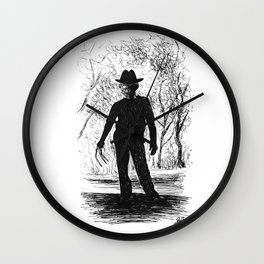 One, Two, Freddy's Coming For You Wall Clock