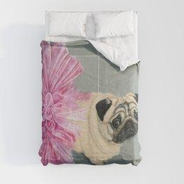 Pug in a Tutu Comforters