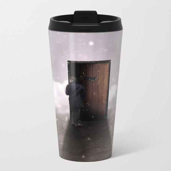 The door Metal Travel Mug
