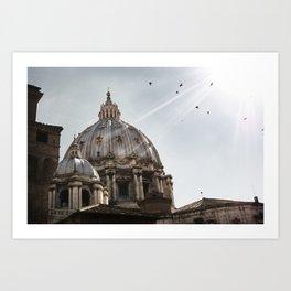 Basilica - Uncropped Art Print