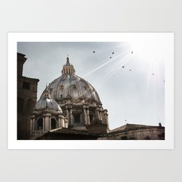 Basilica - Uncropped Art Print