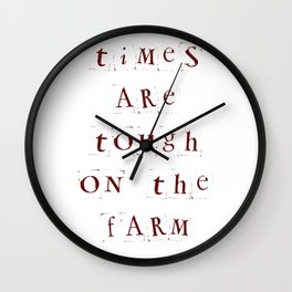 Tough Wall Clock