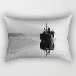 Fjord ship Rectangular Pillow