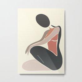 Woman Form I Metal Print