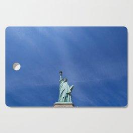 Lady Liberty X - NYC Cutting Board