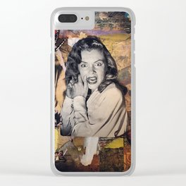 The Stuff Nightmares Are Made Of Clear iPhone Case