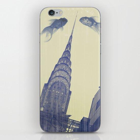 chrysler gold fish iPhone & iPod Skin