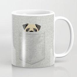 Pocket Pug Coffee Mug