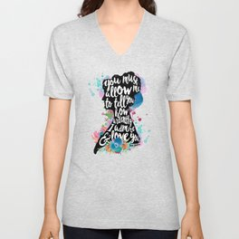 Mr. Darcy - Ardently Admire & Love You Unisex V-Neck