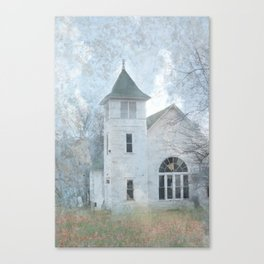 Country Church Canvas Print