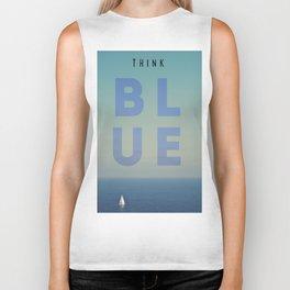 THINK BLUE Biker Tank