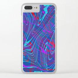 swirls, brp Clear iPhone Case