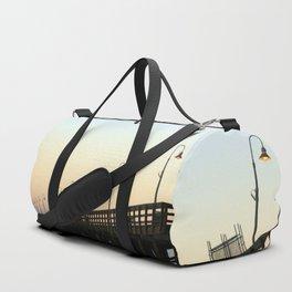 Ventura Ocean Wave Storm Pier Duffle Bag