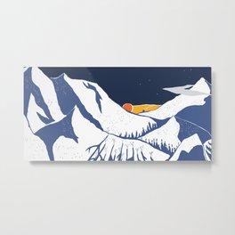 Mountain mysteries Metal Print