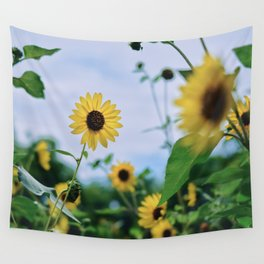 SUNFLOWERRR Wall Tapestry