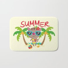 Hello, summer Bath Mat