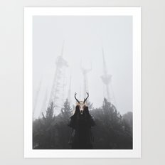 The place beyond the pines Art Print