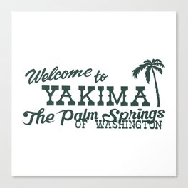 Yakima Canvas Print