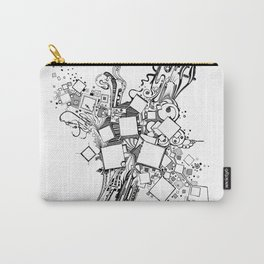 Number One Box - Pen & Ink Illustration Carry-All Pouch