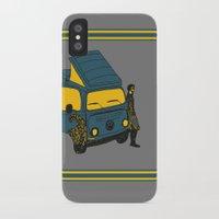 van iPhone & iPod Cases featuring Van by AndaLouz