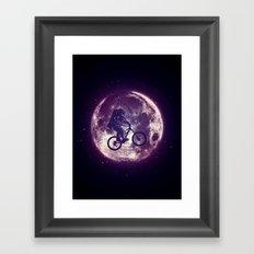 E.T.B. (variant 2) Framed Art Print