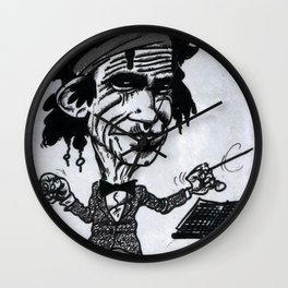 """Keef"" Richards Wall Clock"