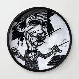 """""""Keef"""" Richards Wall Clock"""